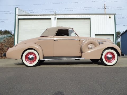 """1938 Buick Special Convertible 46 C """"SOLD"""" West Coast Collector Cars"""