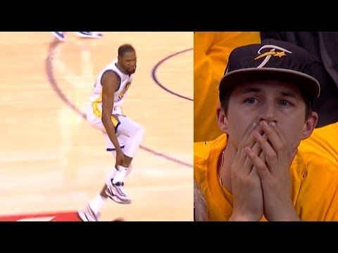 Kevin Durant leave game with leg injury   Warriors vs Rockets Game 5