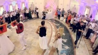 Elvana Gjata ft. Flori - Kuq e Zi albanian wedding