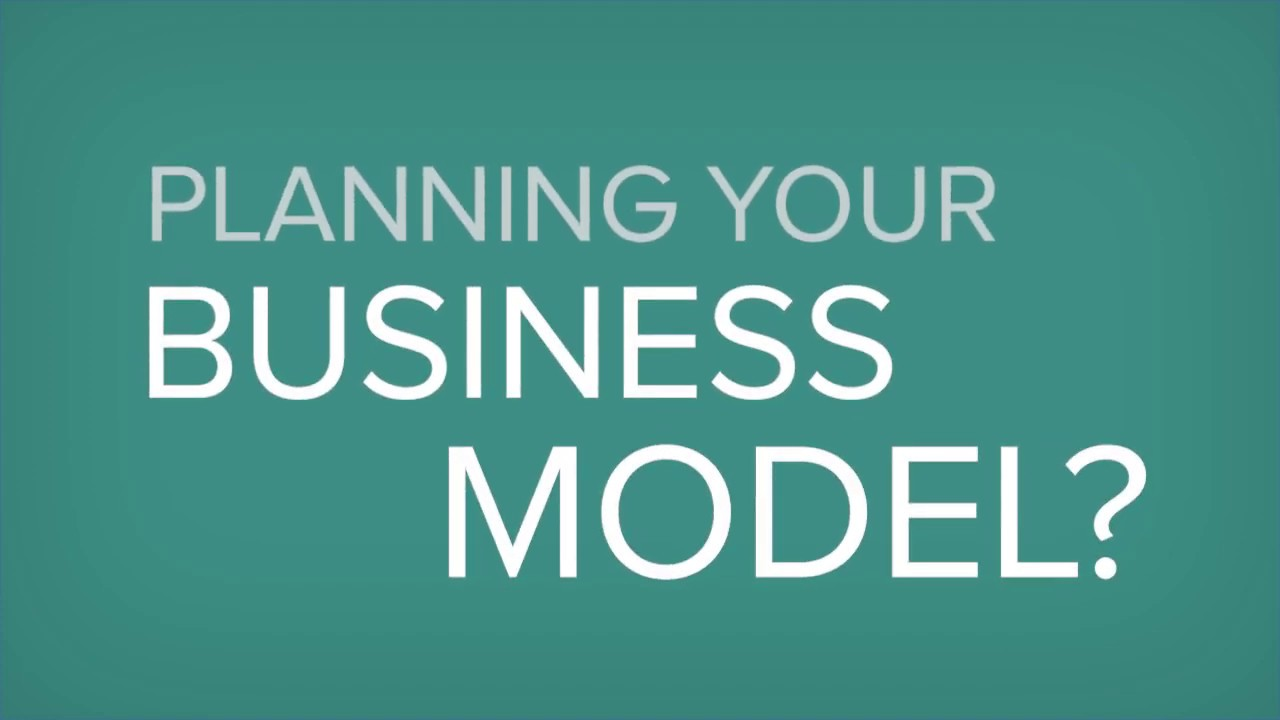 Business Model Canvas Template Excel Youtube