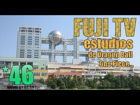 Walking Freak: FUJI TV por dentro, el estudio de TV más famoso de Japón