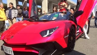 納車式!! 世界限定500台 ランボルギーニ アヴェンタドール SVロードスター Lamborghini Aventador LP750-4 SV Roadstar