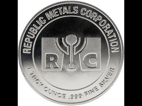 Stacking Silver: 100 Oz of Republic Metals Corp. Rounds👍