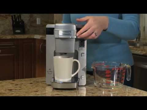 How to descale a cuisinart single cup coffee maker