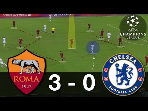 How Roma Destroyed Chelsea   AS Roma-Chelsea Analysis