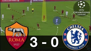 How Roma Destroyed Chelsea | AS Roma-Chelsea Analysis