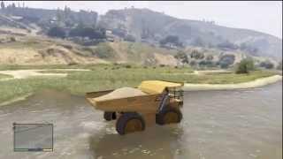 Mega Truck Bog! GTA V