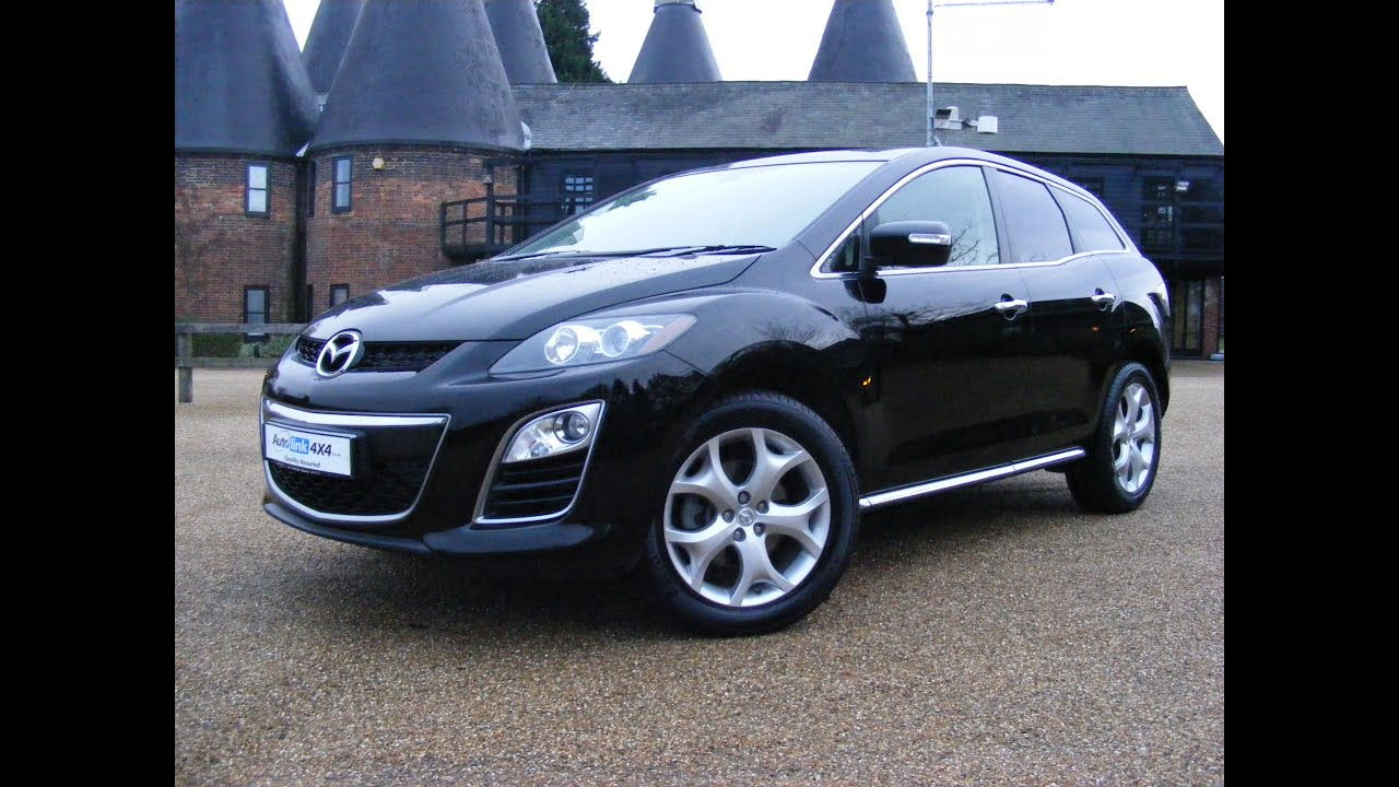 Captivating 2011 Mazda CX 7 D Sport Tech 2.2, Black For Sale In Tonbridge Kent