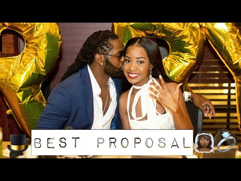 The Best Surprise Proposal | WILL YOU MARRY ME | I Said Yes | Nurse Bee 2020