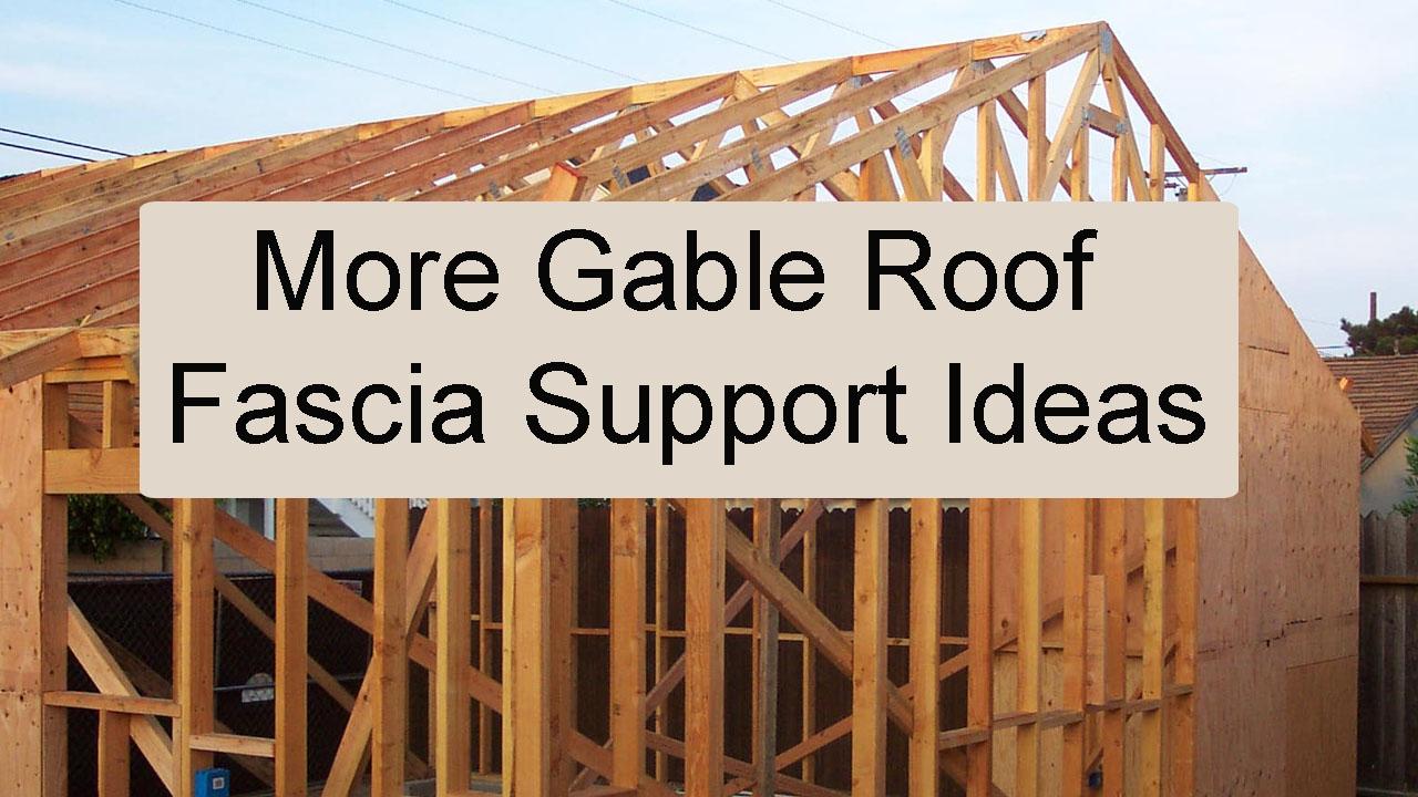 Roof Overhang Support Brackets Miguel Barcelo