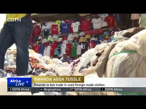 24,000 Americans left jobless as Rwanda bans second-hand clothes