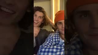 Justin Bieber + Shawn Mendes Instagram IG Live 11/19/2020