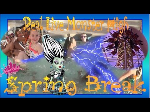 New Real Live Monster High   'Spring Break' - Creative Princess