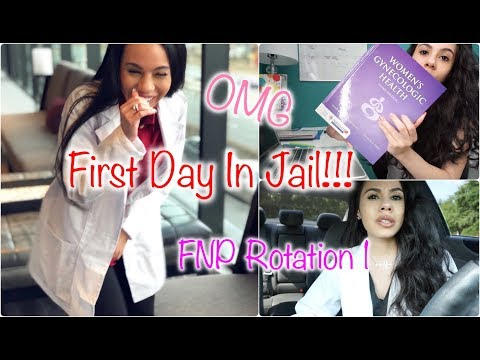 VLOG | FIRST DAY OF NP CLINICAL IN THE JAIL!!!