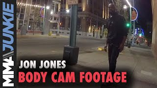 Jon Jones bodycam arrest video: March 26, 2020, Albuquerque, N.M.