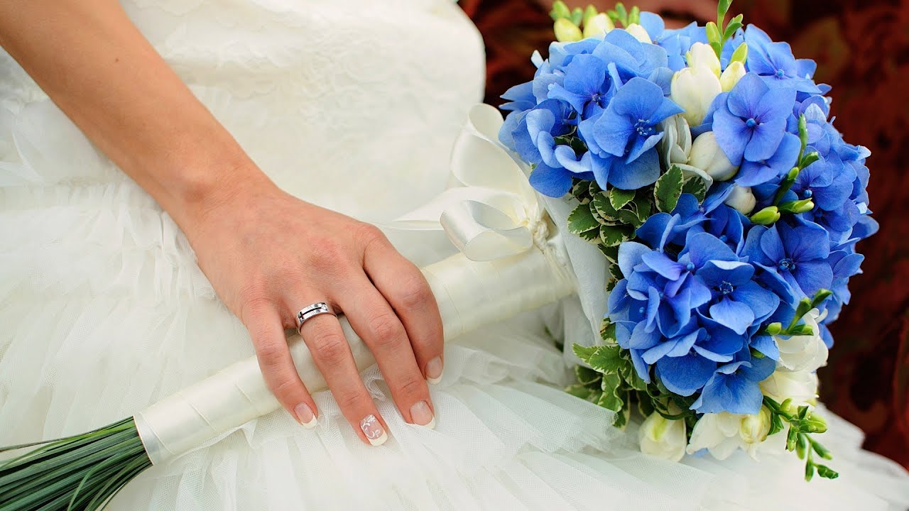 6 Tips about Blue Flowers   Wedding Flowers   YouTube