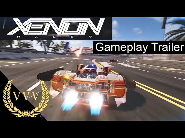 Xenon Racer - Gameplay Trailer