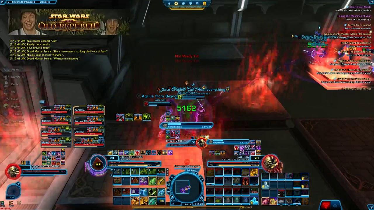 Download SWTOR: Dread Palace 8P NiM Timed Run (Operative Healer PoV)