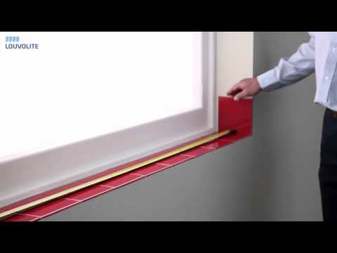 How to Measure & Fit Vertical Blinds  - By Louvolite