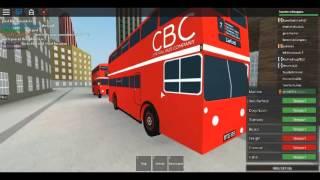 Roblox MTG sur AEC FRM CENTRAL BUS COMPANY Dellgate à Bus Deport via Holden Street 29/12/2016