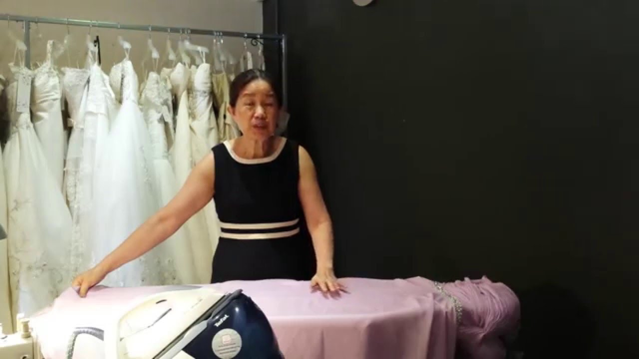 How to iron delicate chiffon dresses youtube how to iron delicate chiffon dresses ombrellifo Gallery