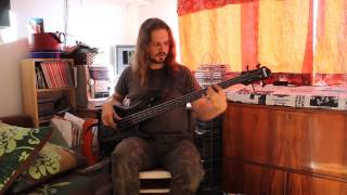 Japan/Mick Karn - Visions of China bass cover