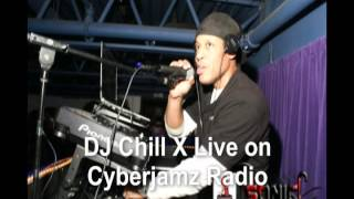 House Music Mix - DJ Chill X Live on Cyberjamz Radio