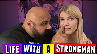 What's it Like Being Married to a Strongman?! Your Questions Answered