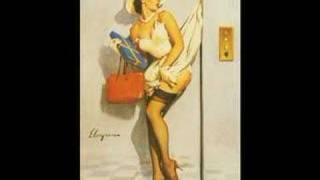 Song by Cameo,pinup art by Gil Elvgren,compilation by Frenz.