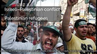 Israeli–Palestinian conflict | Issues in dispute | Jerusalem | Holy sites | Palestinian refuge...