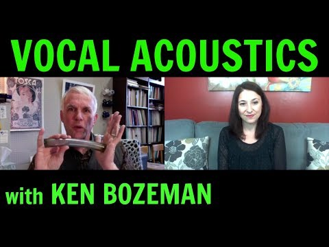 Formant Tuning, Vowel Modification, Male and Female Passaggio, and Registration - with KEN BOZEMAN