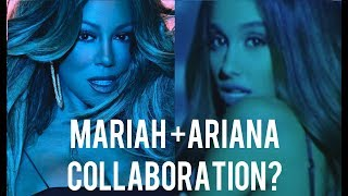 Mariah Carey rumoured COLLAB with ARIANA GRANDE!