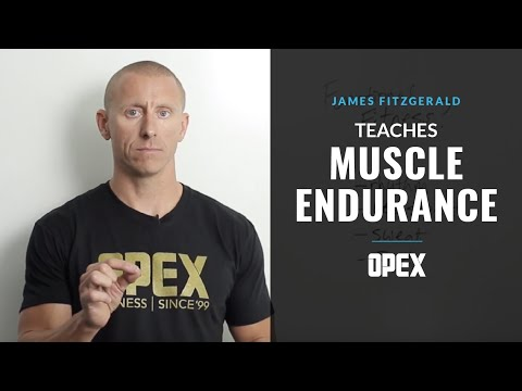 How To Build Muscle Endurance In Fitness With James Fitzgerald