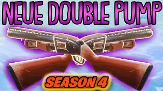 NEUER DOUBLE PUMPGUN TRICK! | (in Season 4) | Fortnite Battle Royale