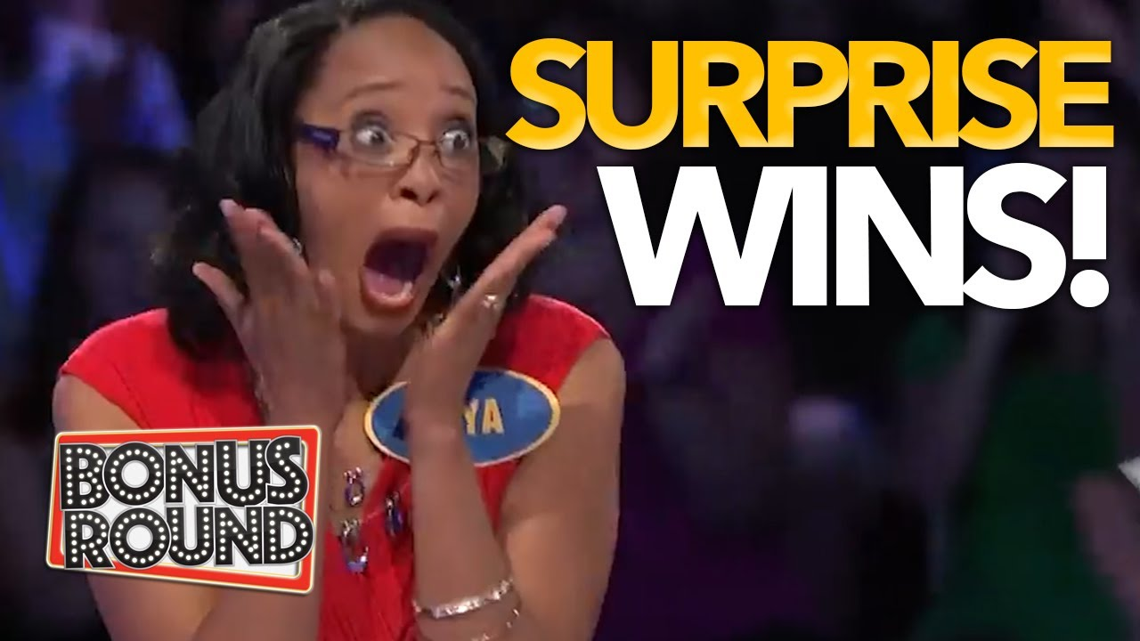 UNEXPECTED WINS On Family Feud! Fast Money With Steve Harvey!