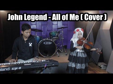 JOHN LEGEND -  ALL OF ME (COVER) | PANDU Ft. BIA