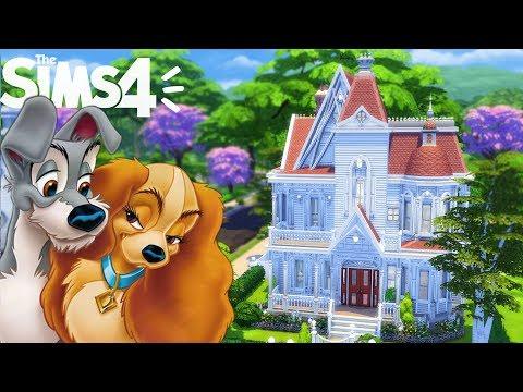 MAISON BELLE ET LE CLOCHARD - Sims 4