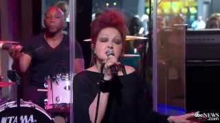 "Cyndi Lauper  ""Time After Time"" live at Good Morning America"