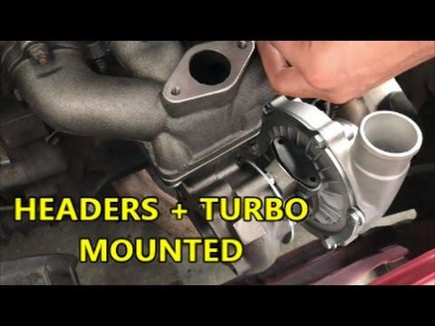 Civic Turbo Install! - Part 1