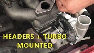 Civic Turbo Install! - Part 1