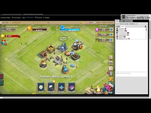 Castle Clash(#2) Getting The Guild Hall