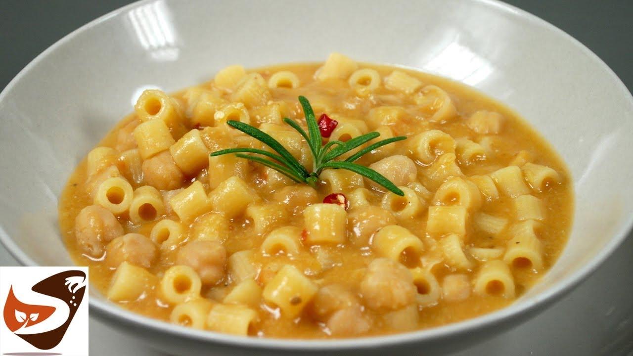 Pasta e ceci facile gustosa e salutare primi piatti for Ricette primi piatti pasta