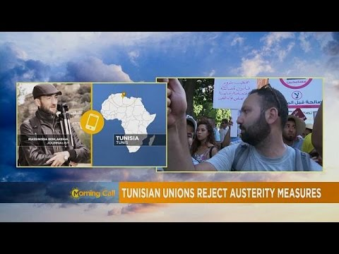 Tunisia's economy falling apart, austerity...
