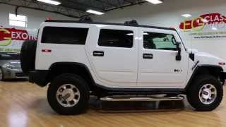 RARE White Sedona Interior~2008 Hummer H2 Luxury For Sale~Loaded~ONLY 6,960 MILES!!