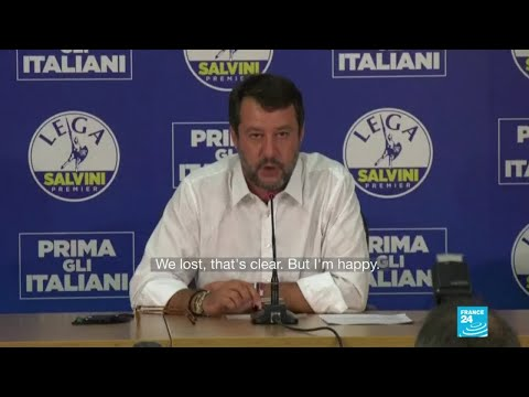 'We lost, that's clear': Italy's Salvini fails to make expected gains in regional elections
