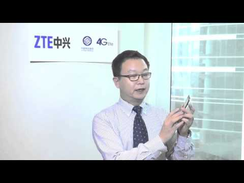ZTE's Kevin Liu introduces the Grand X LTE (T82)