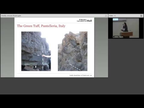 Deadly volcanic flows_London Lecture _March 2016