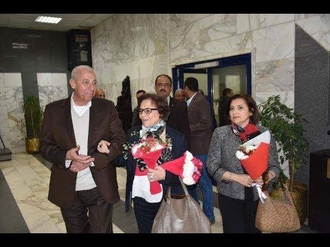 الوطن المصرية:أهالي أسوان يستقبلون المناضلة الجزائرية جميلة بوحيرد بالزفة النوبي