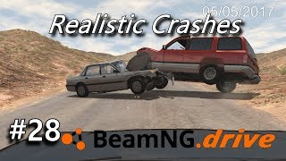 BeamNG Drive - Dashcam Crashes Compilation [28] (+Sound Effects)
