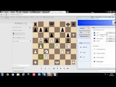 ölümsüz bir satranç oyunu, pirc defence